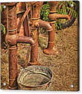 Pumps Gone Dry Acrylic Print
