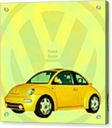 Punch Buggy Acrylic Print by Bob Orsillo