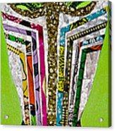 Punda Milia Acrylic Print by Apanaki Temitayo M
