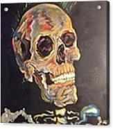 Punk Is Not Dead Acrylic Print