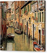 Punte Rosse A Venezia Acrylic Print
