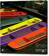 Punts For Hire Acrylic Print
