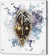 Punu Prosperity Mask Acrylic Print
