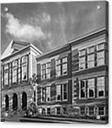 Purdue University Pfendler Hall Acrylic Print by University Icons