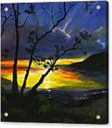 Purdy Sunset Acrylic Print