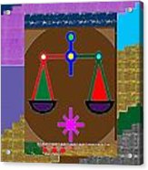 Pure Decoration Zodiac Symbol Art Acrylic Print
