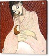 Purest Form Of Love Acrylic Print by Rejeena Niaz