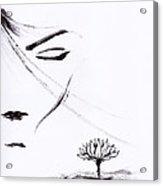 Purity Acrylic Print
