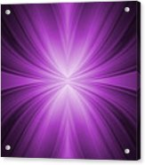 Purple Abstract Background Acrylic Print