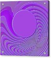 Purple Alchemy Acrylic Print