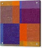 Purple And Orange Get Married Acrylic Print
