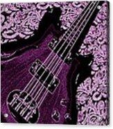 Purple Bass Acrylic Print