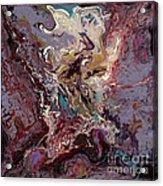 Purple Blitz Acrylic Print