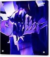 Purple Blue Fish...   # Acrylic Print