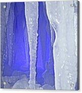 Purple Cave Acrylic Print