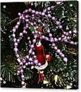 Purple Christmas Acrylic Print