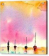 Purple Dawn Acrylic Print