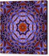 Purple Design 2 Acrylic Print