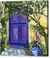 Purple Door Acrylic Print