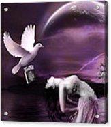 Purple Dream Acrylic Print