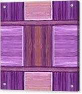 Purple Dreams Squares Acrylic Print