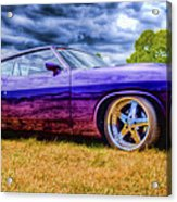 Purple Falcon Coupe Acrylic Print by Phil 'motography' Clark