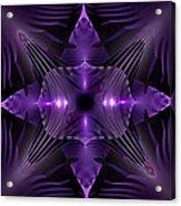 Purple Fingerz Acrylic Print