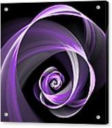 Purple Flirt Acrylic Print