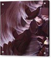 Purple Folds Acrylic Print