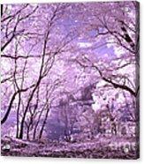 Purple Forest Acrylic Print