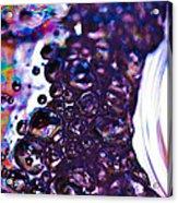 Purple Fusion Acrylic Print