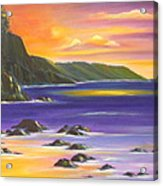 Purple Haze In Hawaii Acrylic Print