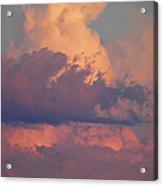 Purple Heavens Acrylic Print