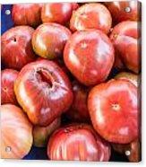 Purple Heirloom Tomatoes  Acrylic Print