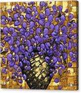 Purple In The Warm Glow Acrylic Print