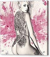 Purple Lake Acrylic Print