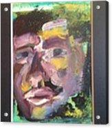 Purple Man Acrylic Print