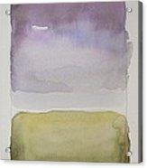 Purple Morning Acrylic Print