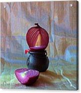 Purple Onion Acrylic Print