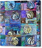 Purple Onions Acrylic Print