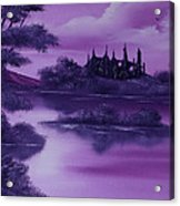 Purple Palace For Sale Acrylic Print