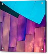 Purple Panels Acrylic Print