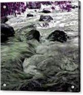 Purple River Acrylic Print
