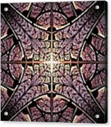 Purple Shield Acrylic Print