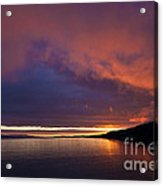 Purple Skies Acrylic Print