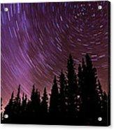 ...purple Sky Acrylic Print