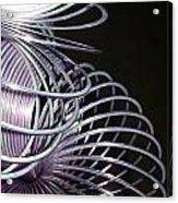 Purple Slinky Acrylic Print