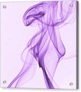 Purple Smoke Acrylic Print