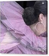 Purple Swan Acrylic Print