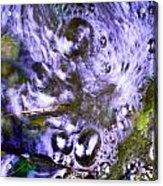 Purple Swoosh Acrylic Print